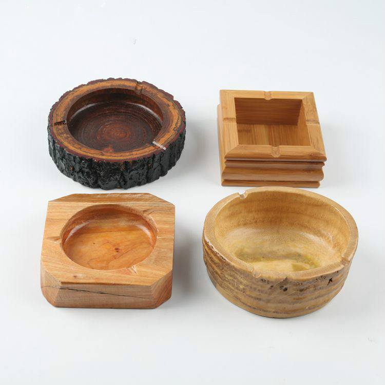 Kerajinan Asbak Bambu