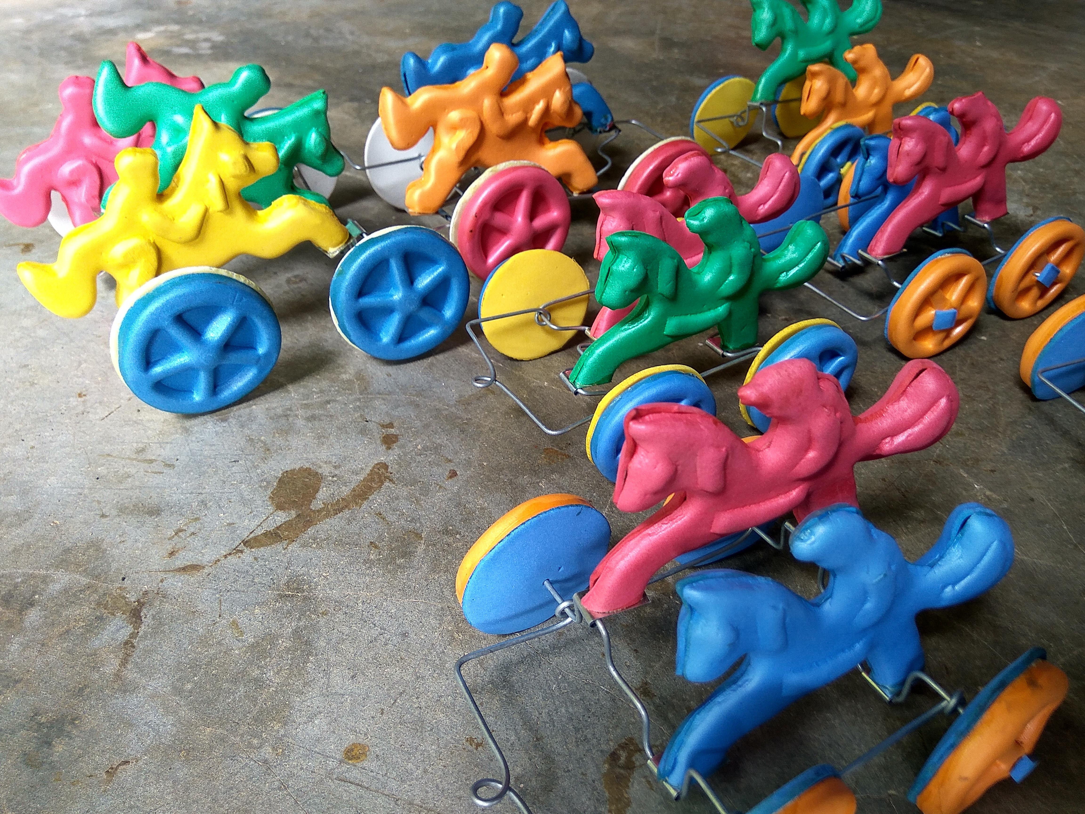 Kerajinan Mainan Kereta Kuda