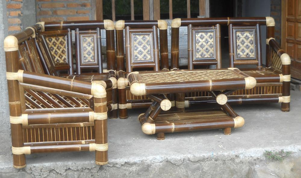 Kerajinan Mebel Bambu